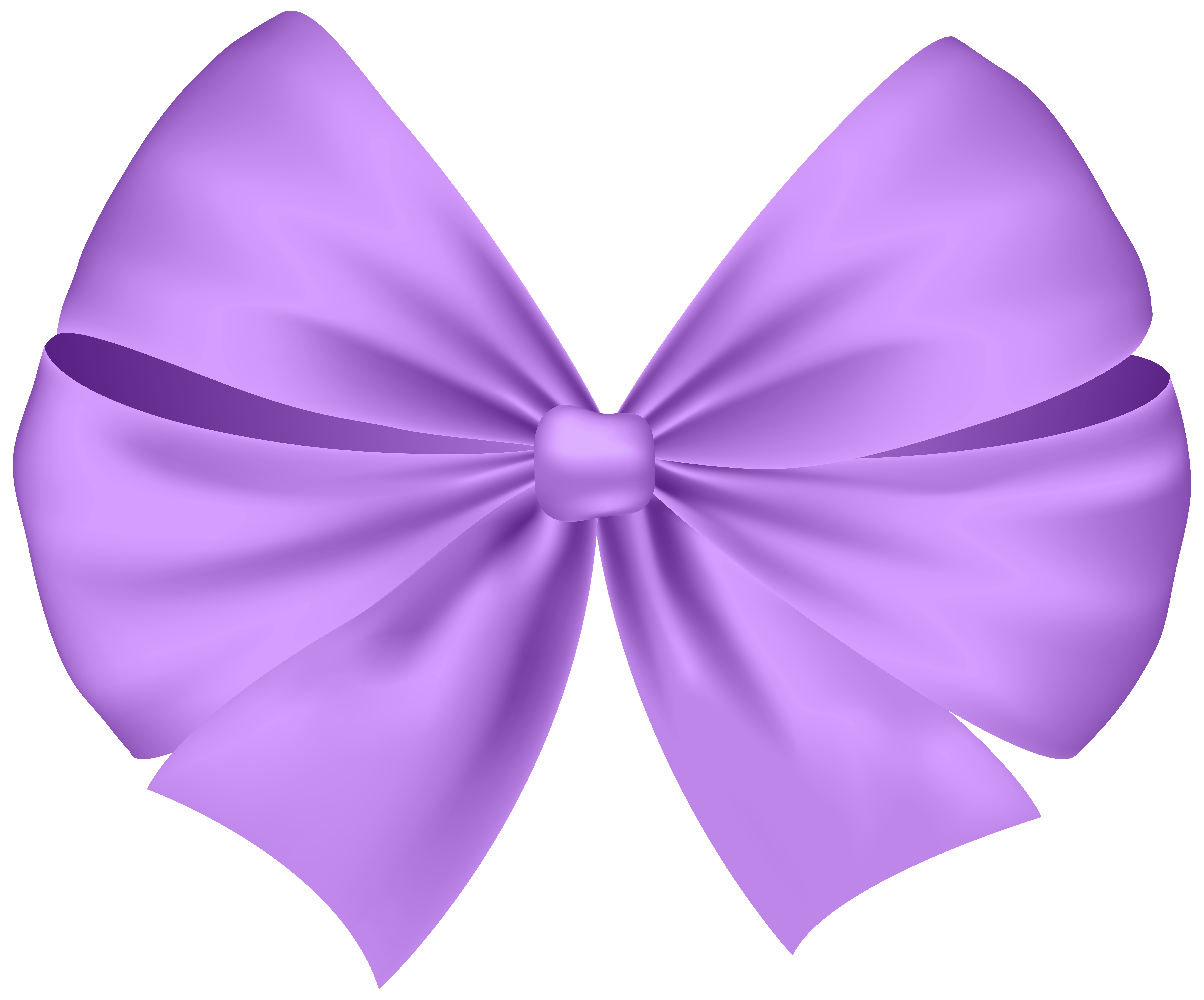 Violet bow transparent png. Clipart butterfly ribbon