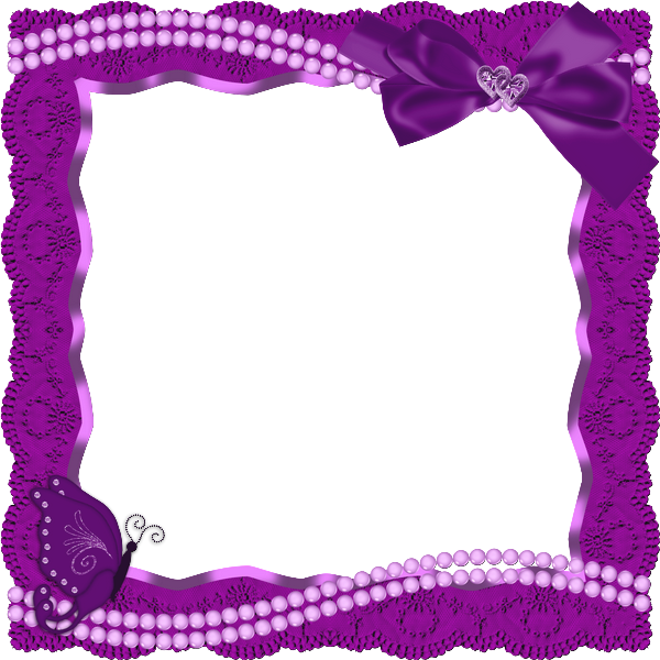 Transparent frame with and. Clipart butterfly ribbon