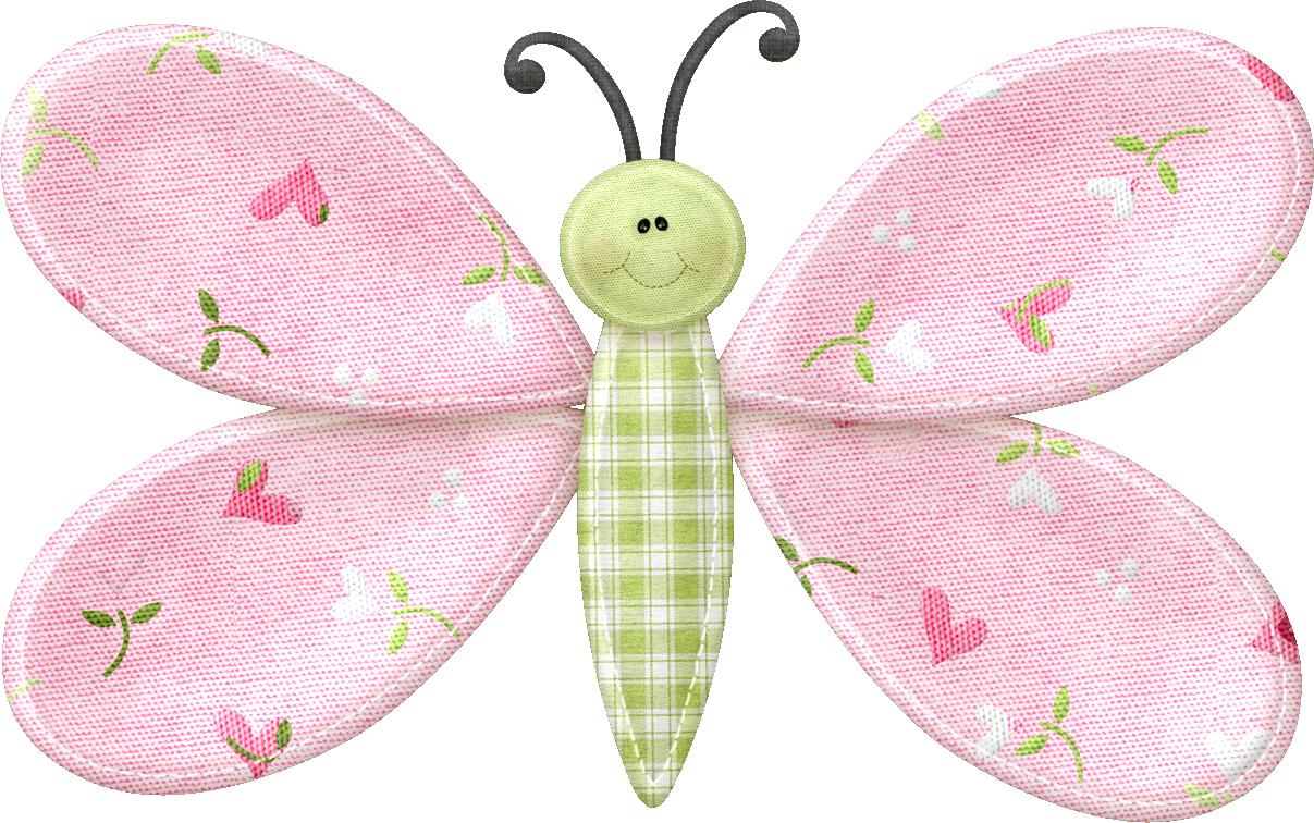 Borboletas joaninhas e etc. Clipart butterfly scrapbook