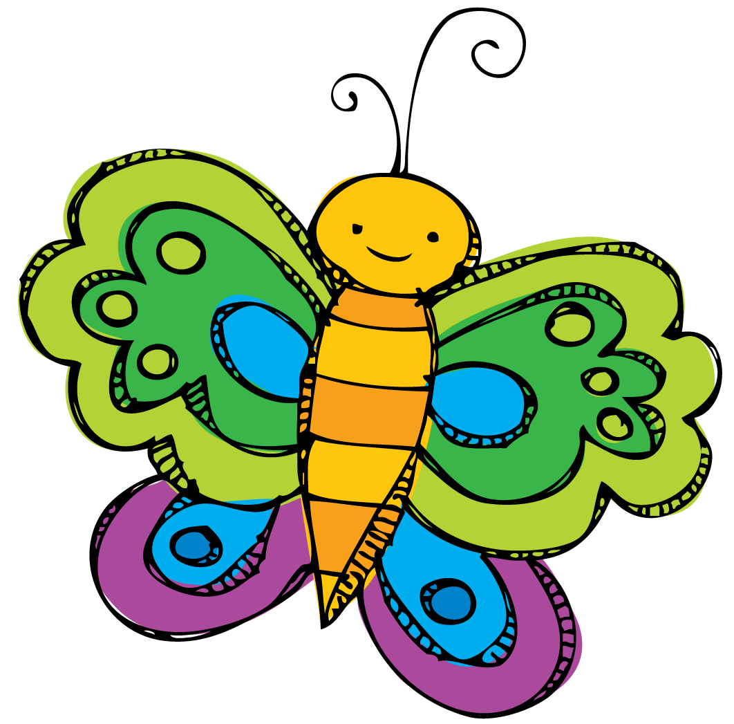 Preschool clipart butterfly. Spring panda free images