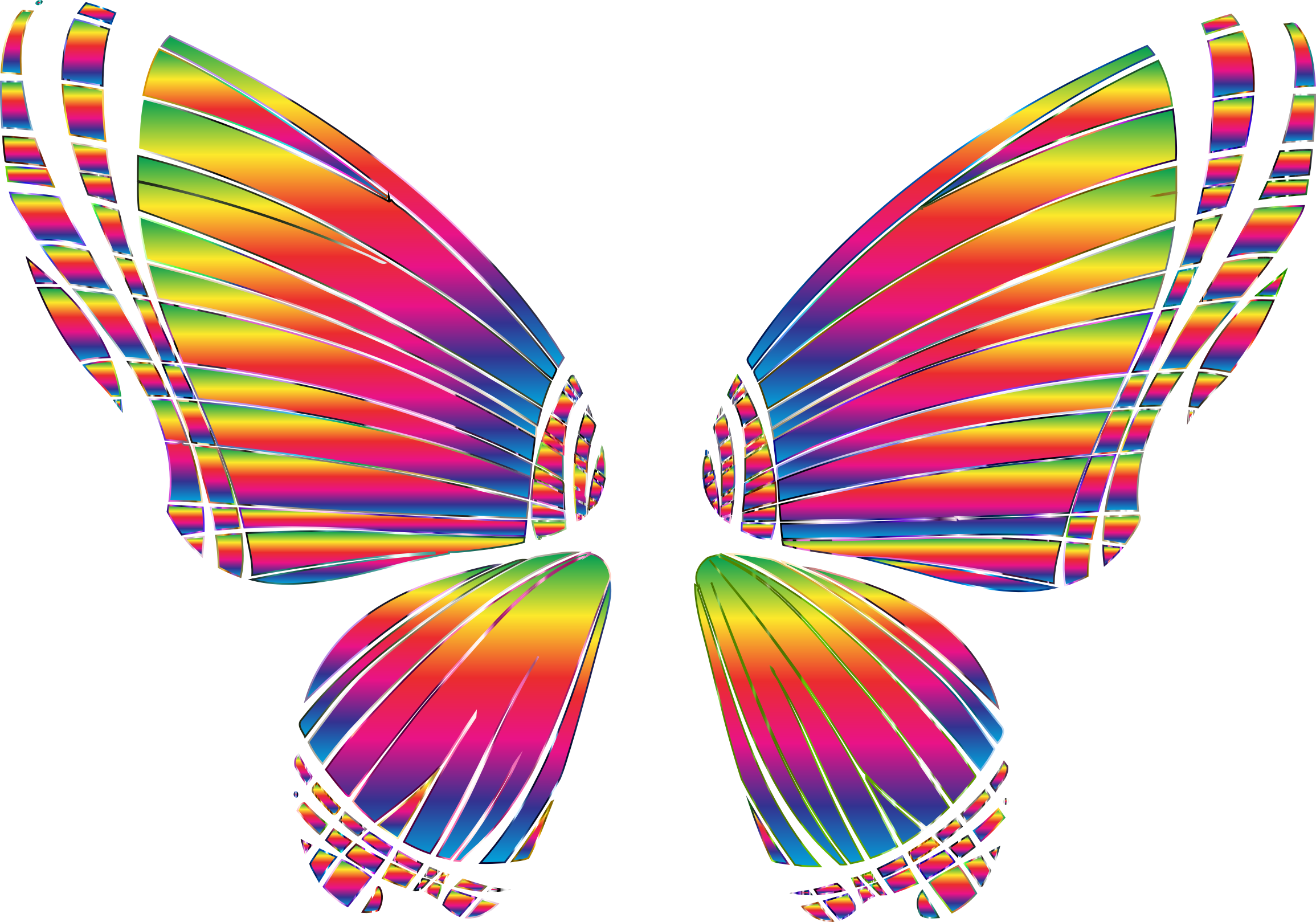 Rgb silhouette no big. Clipart butterfly transparent background