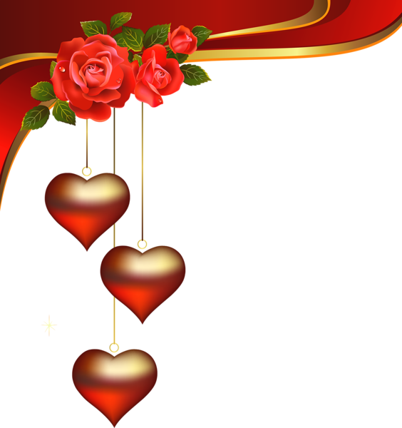Decorative hearts pendants with. Clipart butterfly valentines