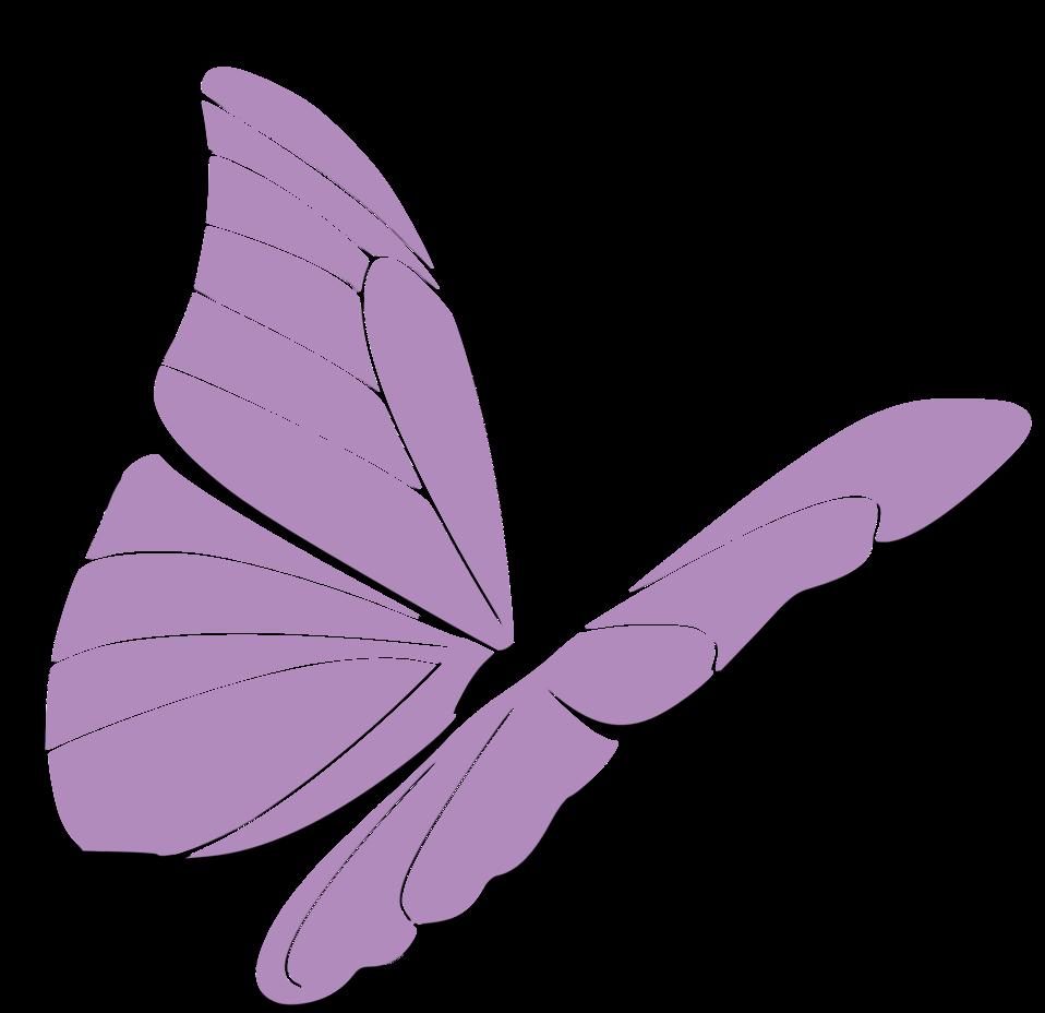 Clipart butterfly violet. Public domain clip art