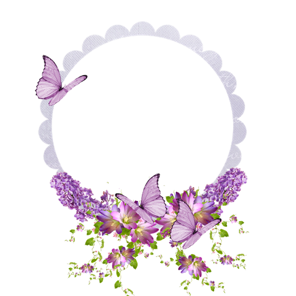 clipart butterfly wreath