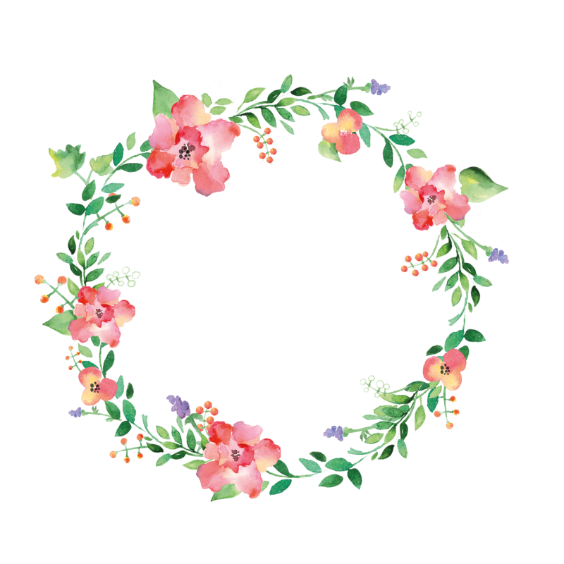 Woodland clipart wreath.  frame png pinterest
