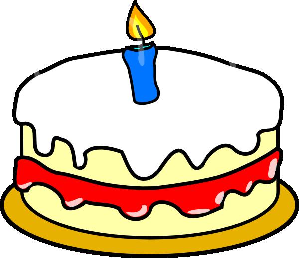Clipart cake 1st. First birthday clip art