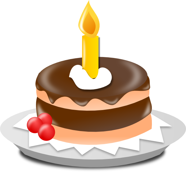 st birthday panda. Clipart cake 1st