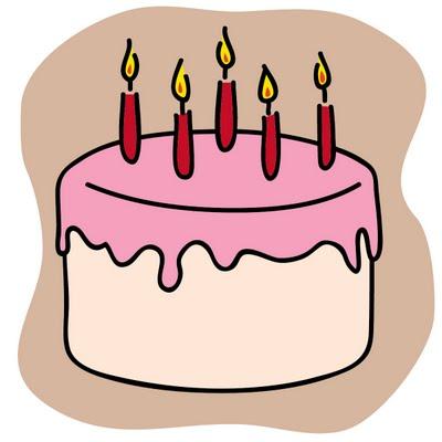 Clipart cake. Free birthday clip art