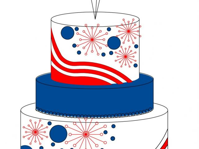 Magnificent Clipart Cake 4Th July Picture 2392854 Clipart Cake 4Th July Funny Birthday Cards Online Inifofree Goldxyz