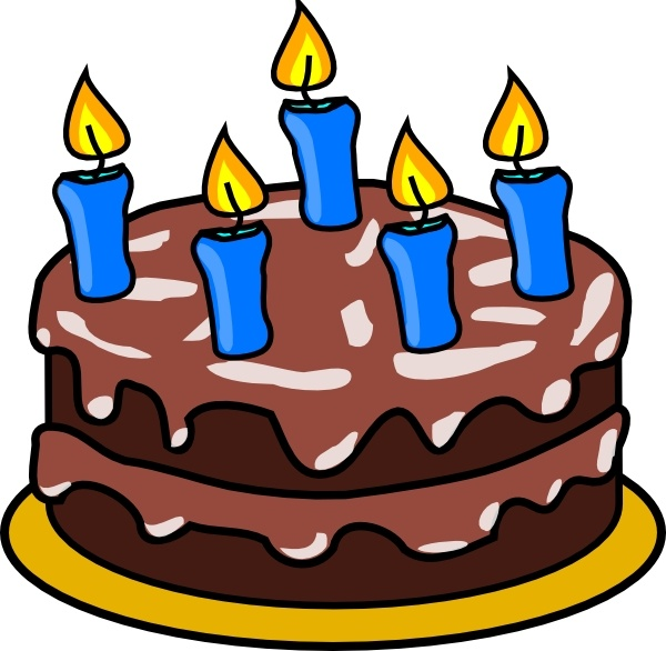 Birthday clip art free. Clipart cake
