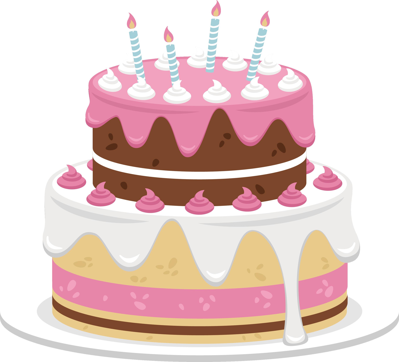 Birthday cream bakery sweet. Clipart cake baked goods