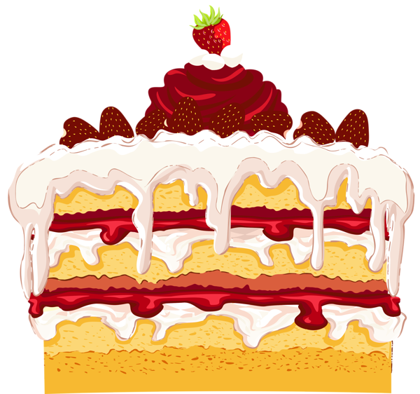 Strawberry png pinterest cakes. Clipart cake bear