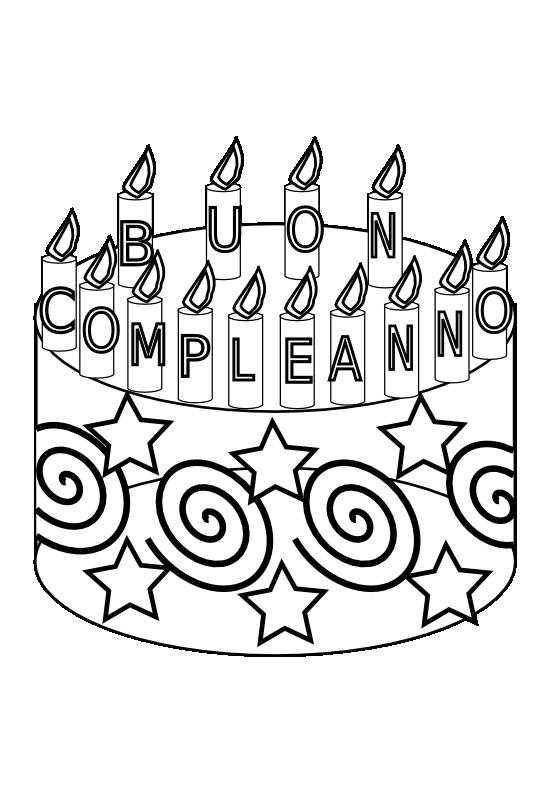 Clipart cake black and white. Happy birthday panda free