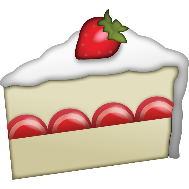 Download Strawberry Cake Emoji