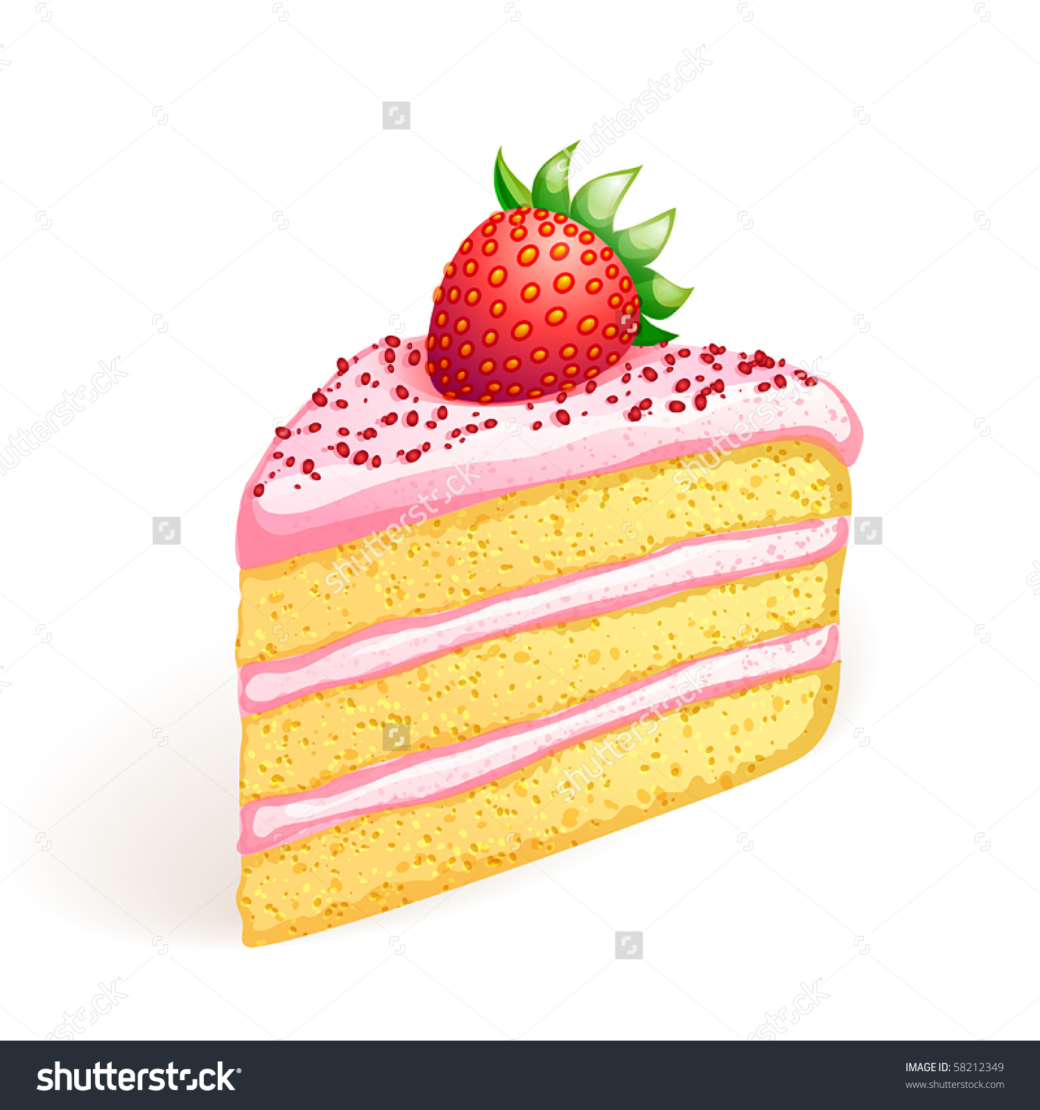 piece of clipartlook. Clipart cake cake slice