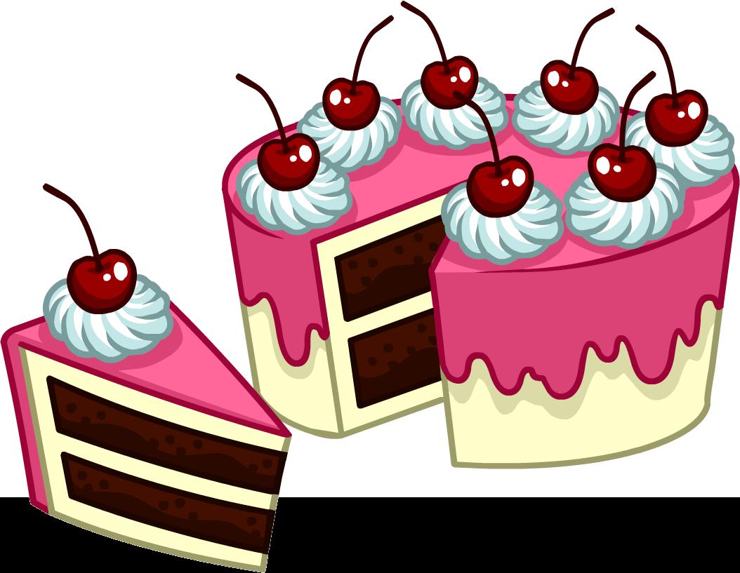 Clipart cake cake slice. Image puffle care catalog