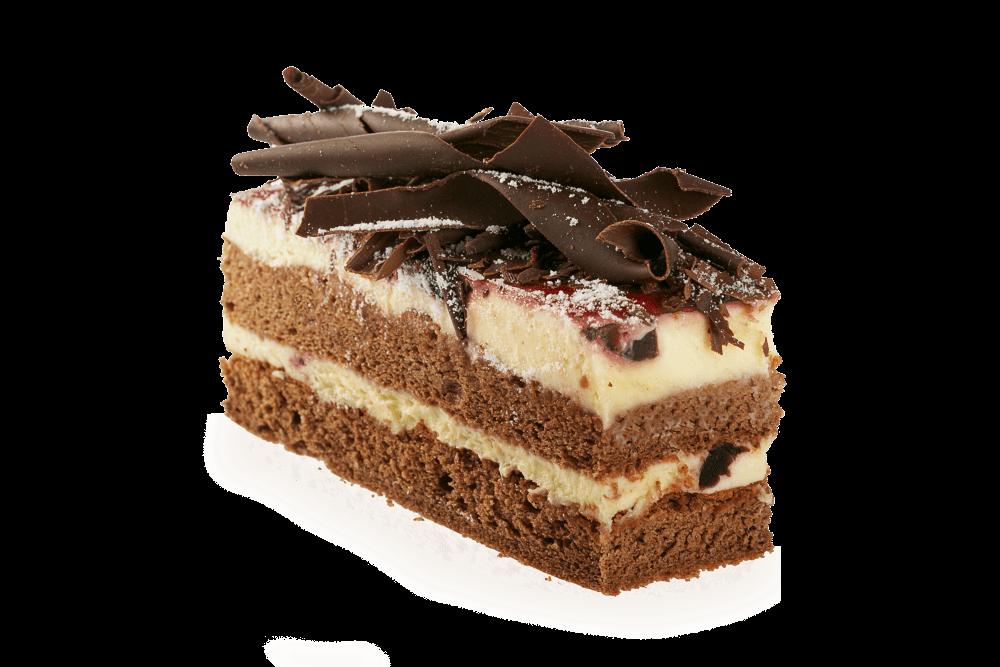 Chocolate transparent png stickpng. Clipart cake cake slice