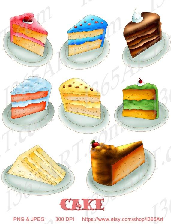 Clipart cake cake slice. Slices birthday clip art