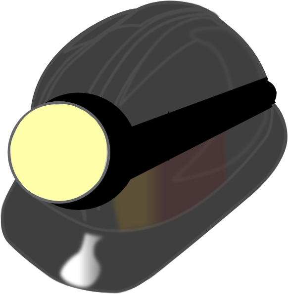 hat clipart miner