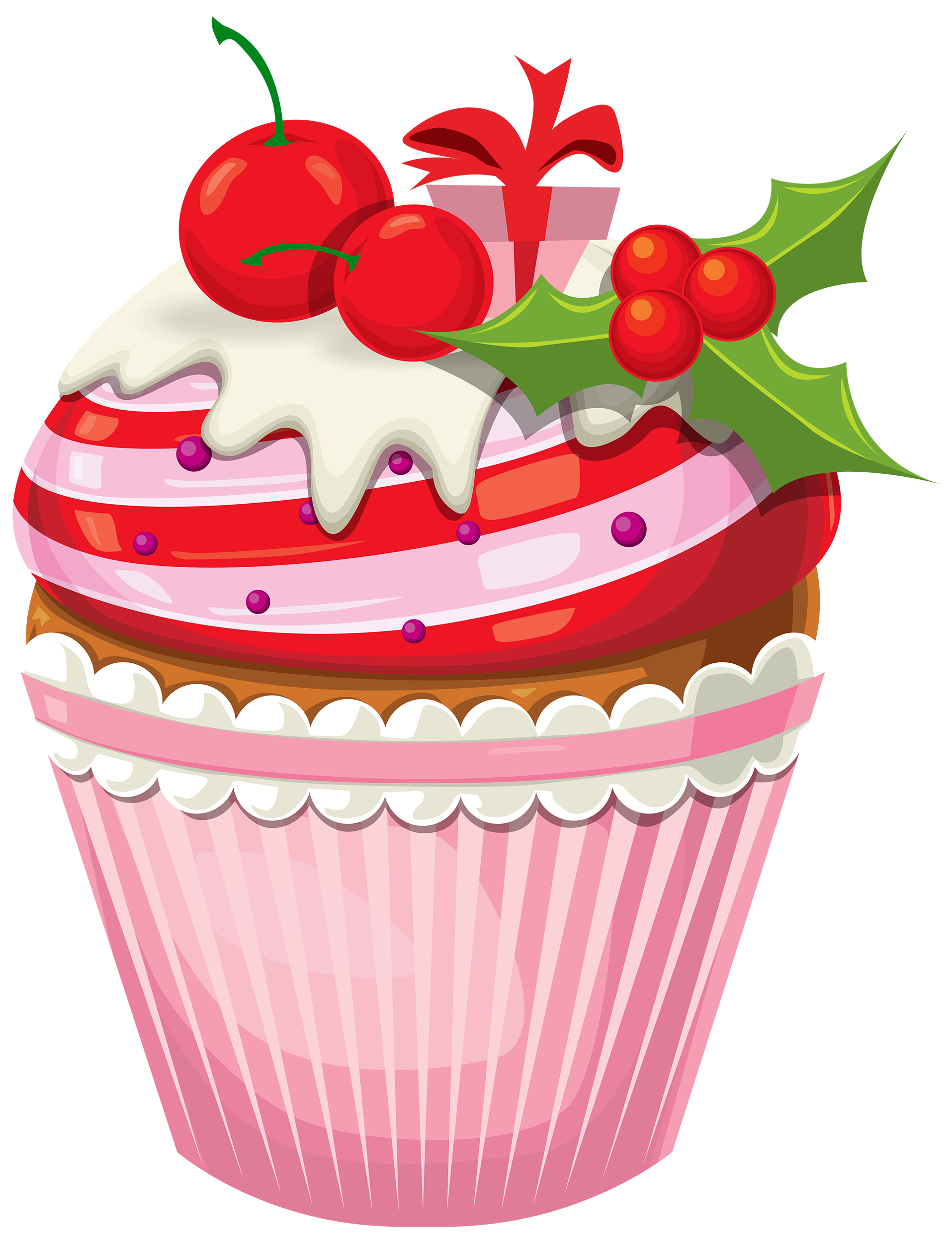 Christmas png best web. Clipart heart cake