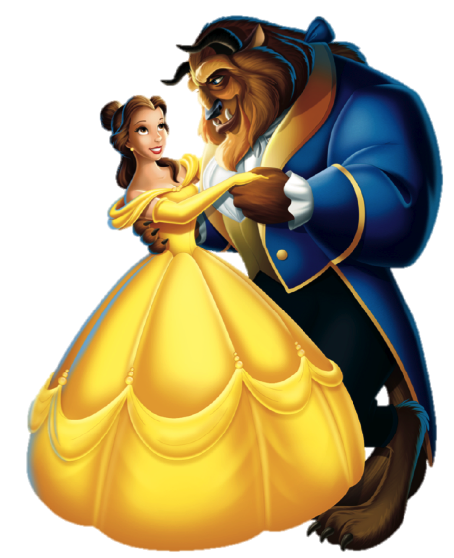 Disney character free on. Wolves clipart beauty and the beast