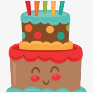 Birthday . Clipart cake cute