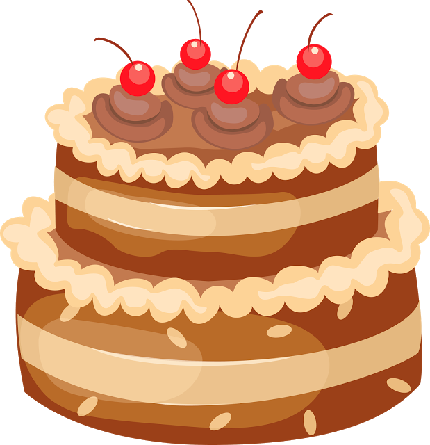 Happy birthday wishes greetings. Surprise clipart cake