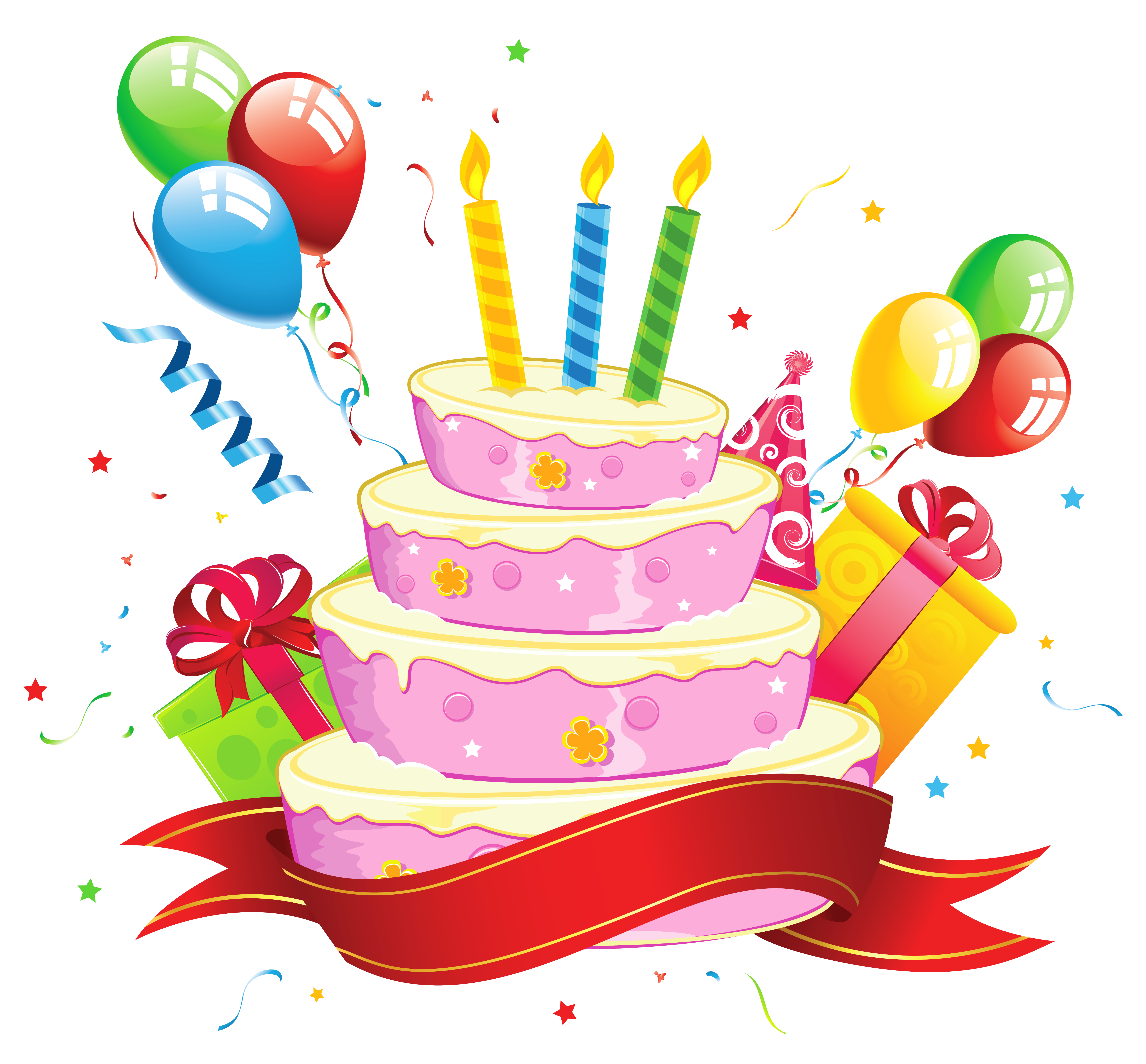 collection of free. Clipart cake december