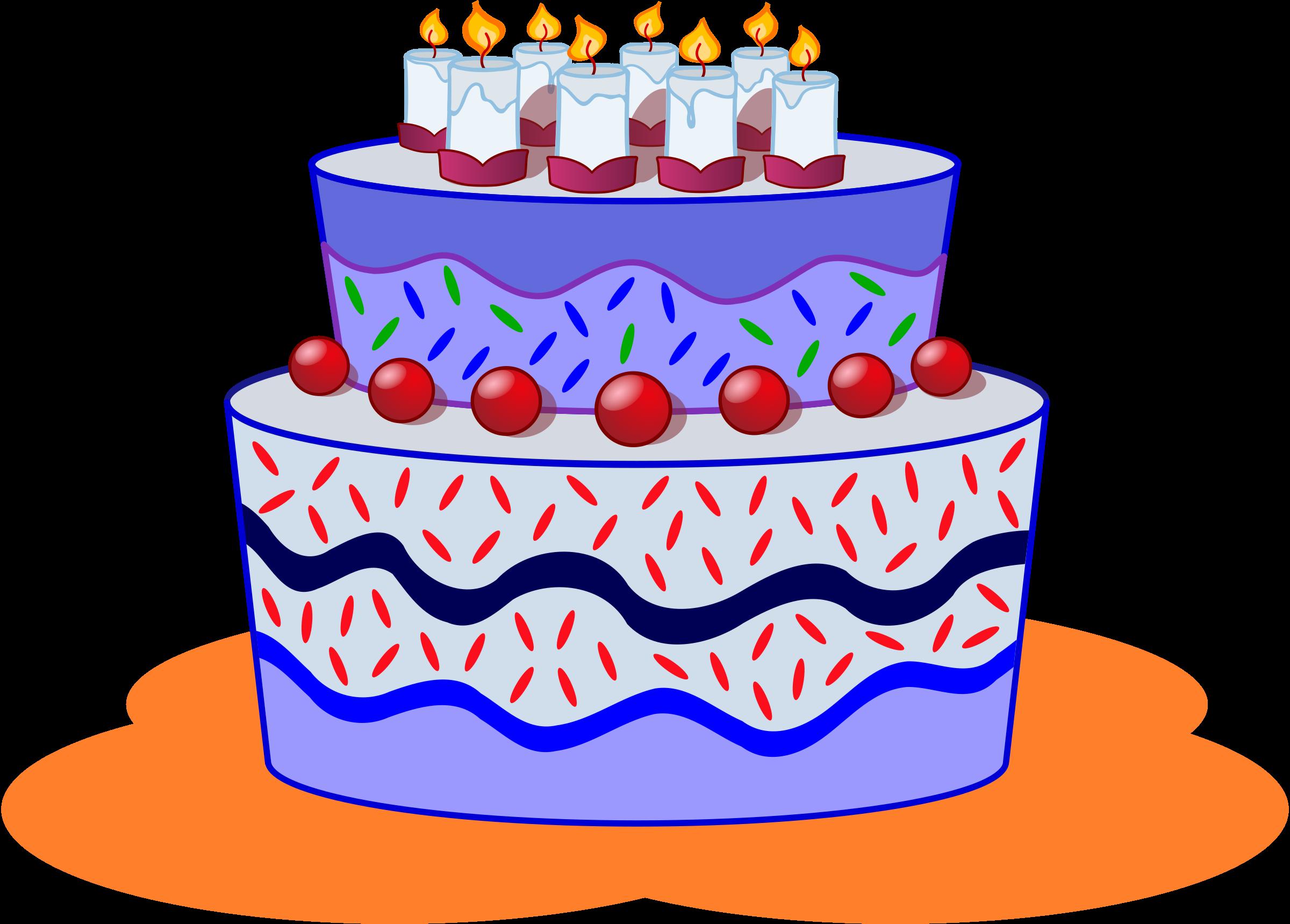 Clipart cake december.