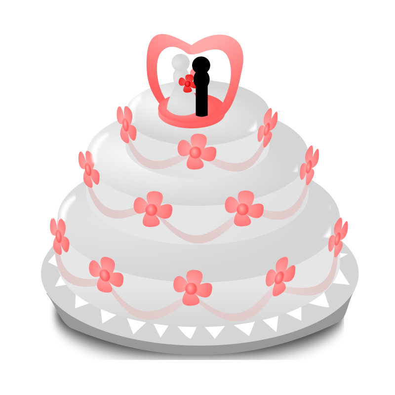 Logo clipart cake. Wedding free graphics for