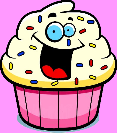 Cupcake with cliparting com. Clipart cake face