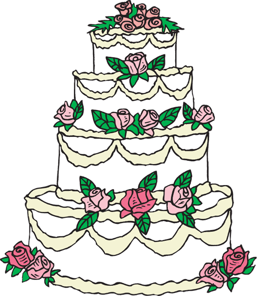 Wedding cake topper panda. Engagement clipart elegant bridal