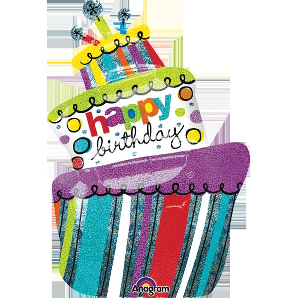 Clipart cake funky. Birthday s globos pinterest