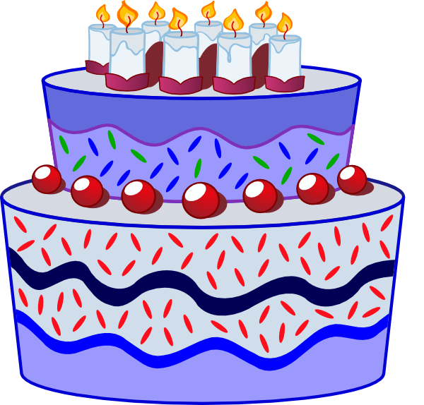 Clipart cake gambar. Birthday clip art at