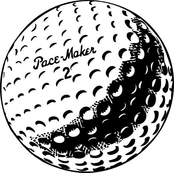 Golfer clipart retro. Sketches of golf golfball