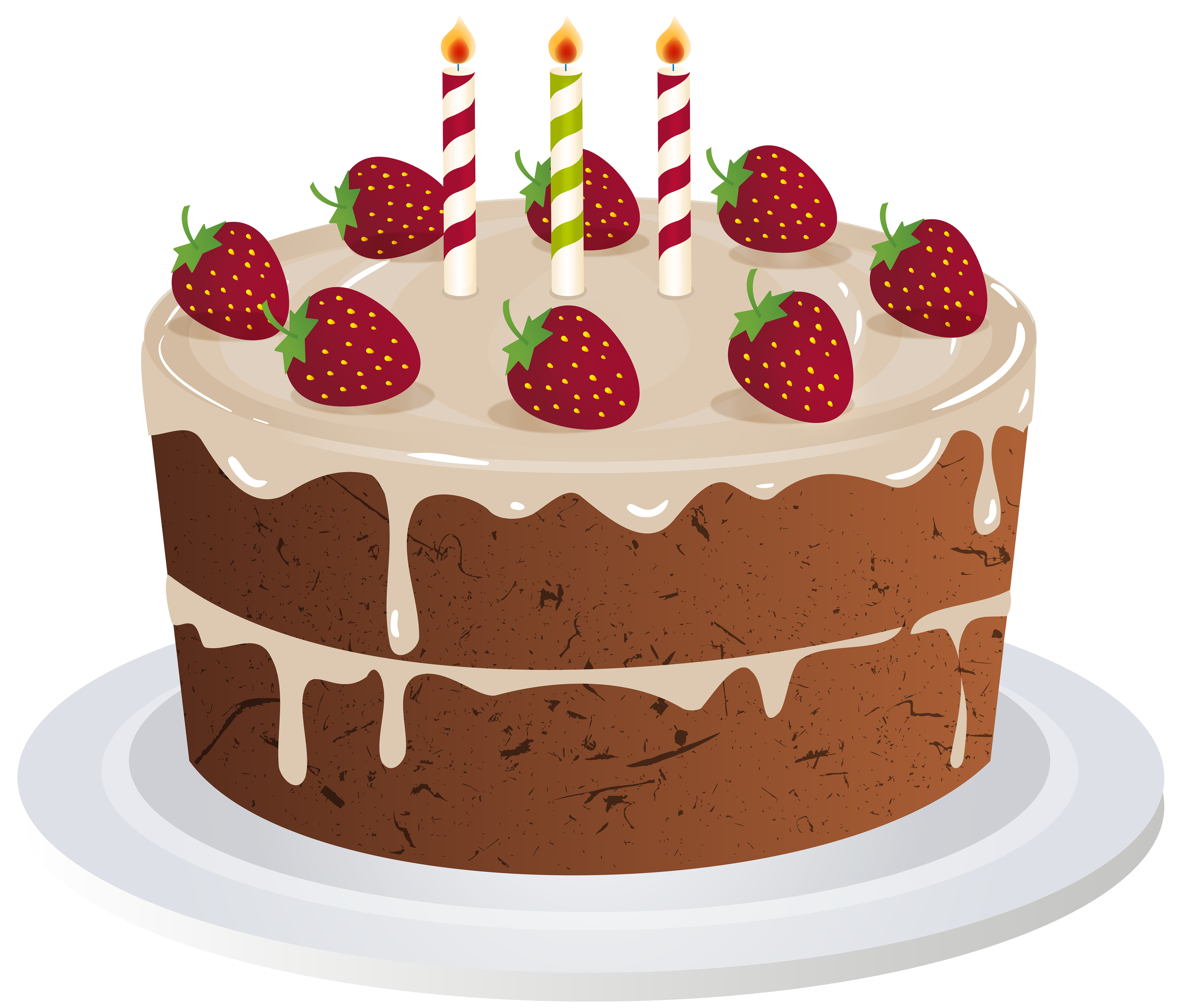 Birthday cake transparent png. Desserts clipart banner