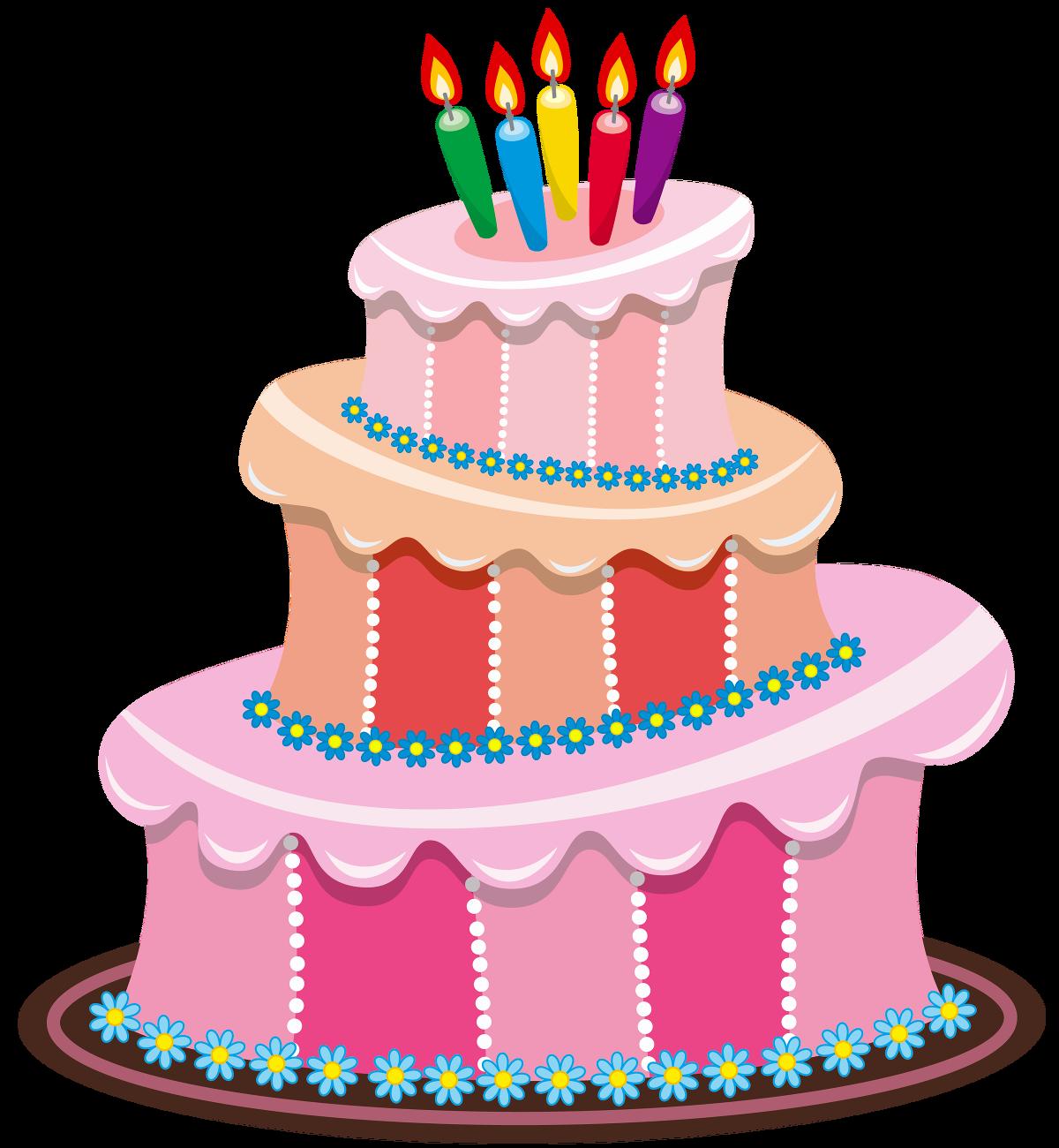 Clipart cake january. Birthday present my th