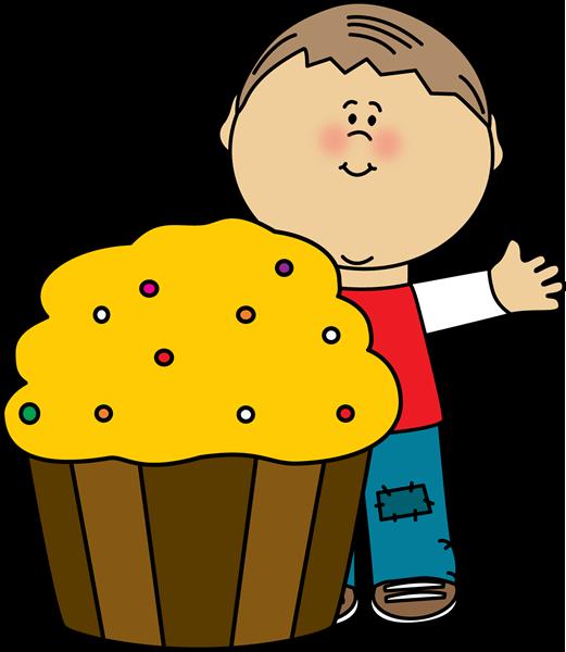Yummy cupcake clip art. Gift clipart my cute graphics