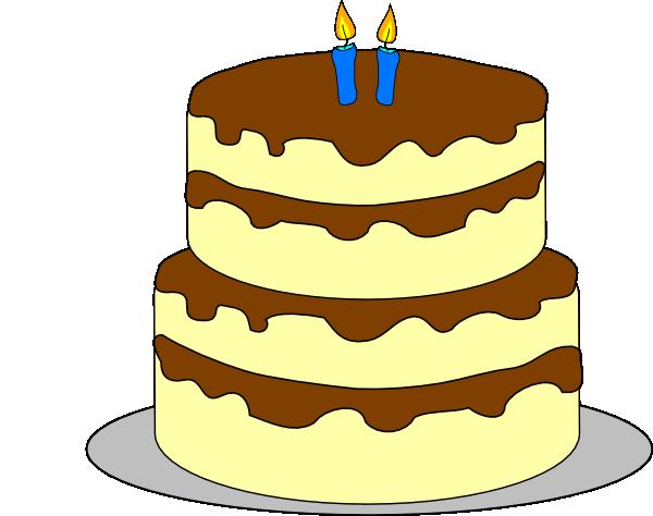 birthday clip art. Clipart cake layer