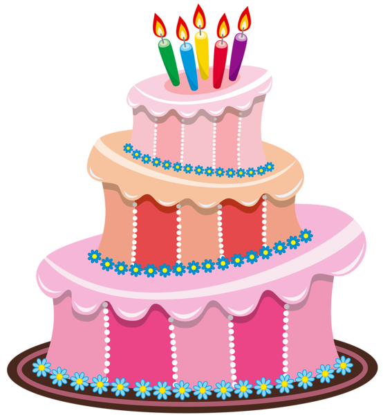 Image pink birthday png. Clipart cake lion