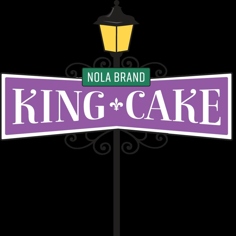 Homepage nola brand king. Logo clipart cake