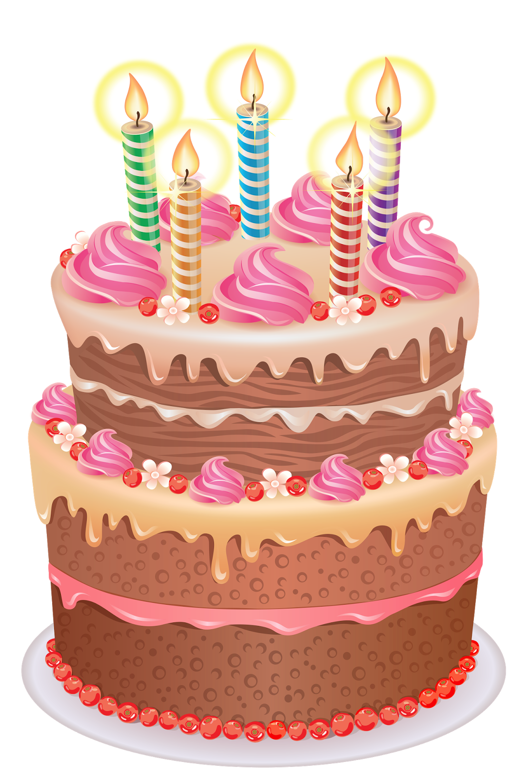 Happy birthday graphics clip. Congratulations clipart pink