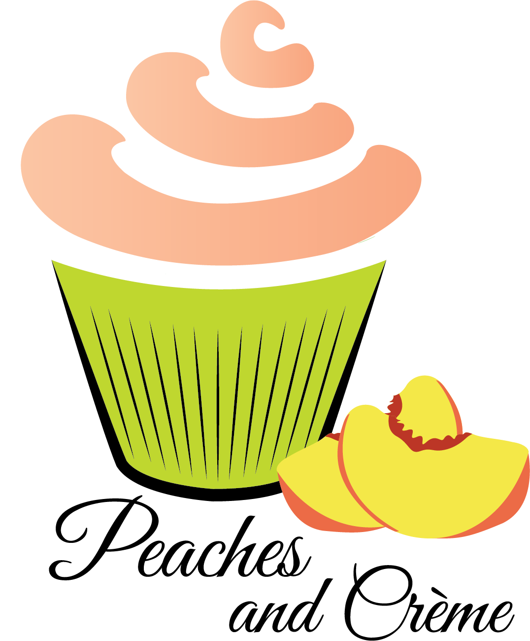 Peaches and creme bakery. Restaurants clipart pastry chef