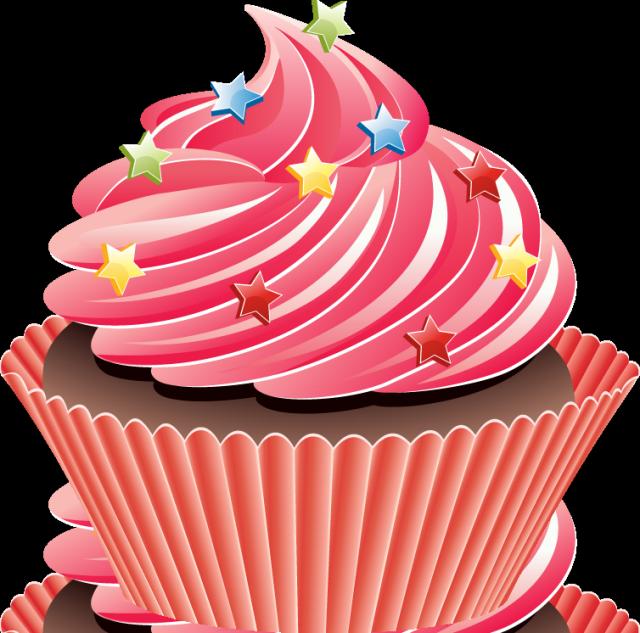 Graphic design clip art. Clipart cupcake collage