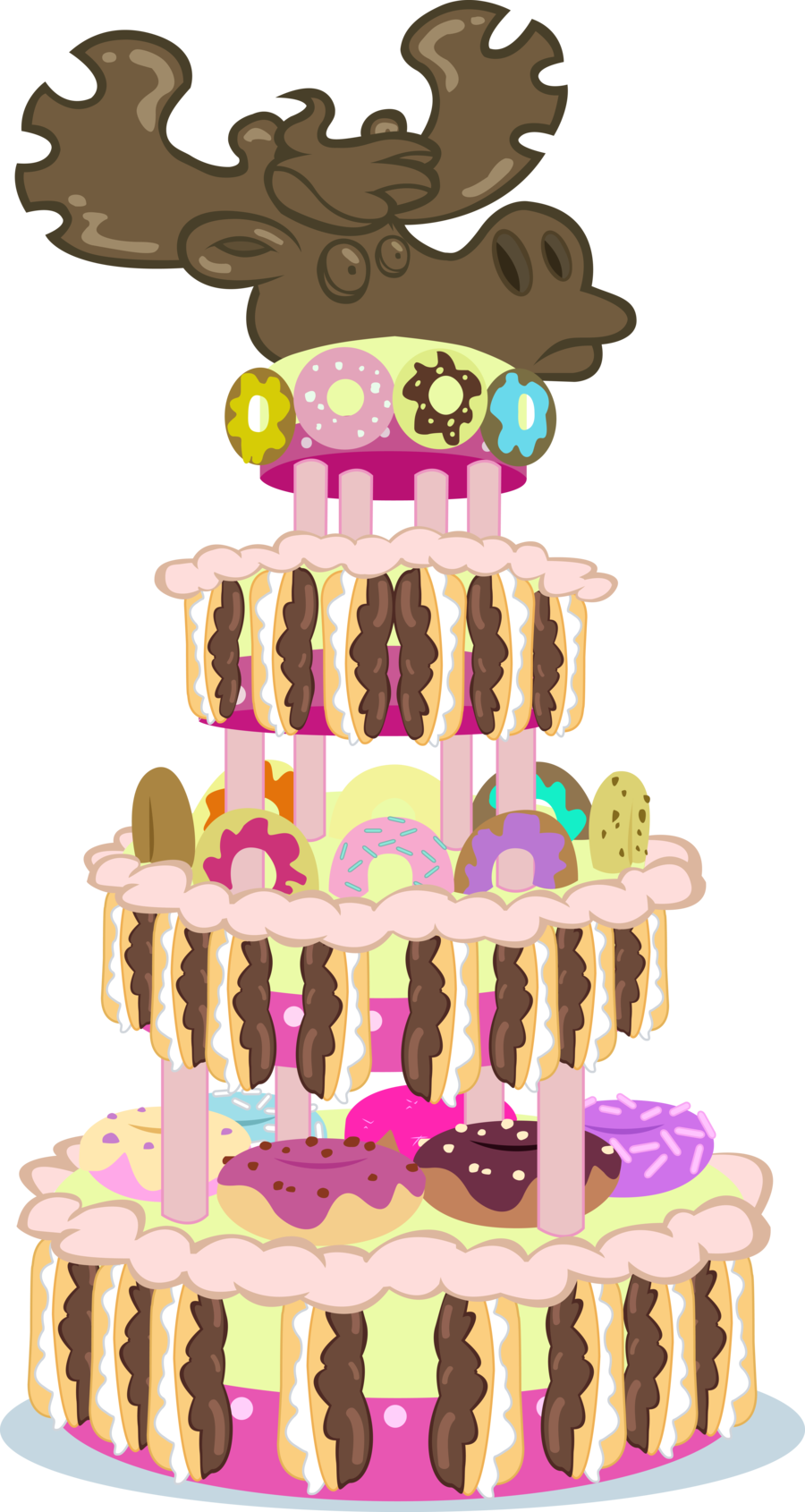Clipart cake retro. This is what the