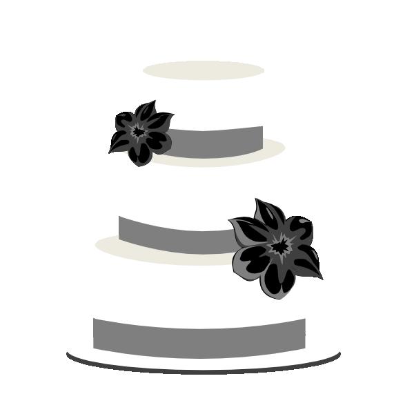 Cake silhouette . Jar clipart wedding