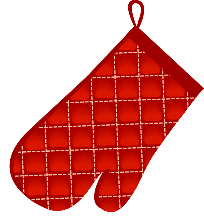 Mittens clipart mitt. Oven glove pot holder