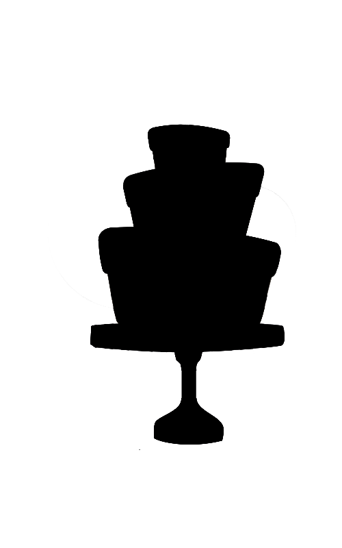 Clipart cake stand. Silhouette at getdrawings com