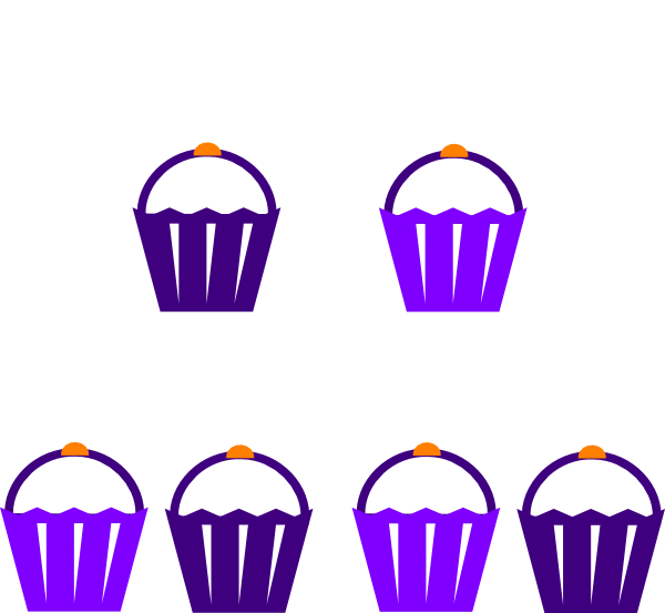 Clipart cake stand. Purple clip art at