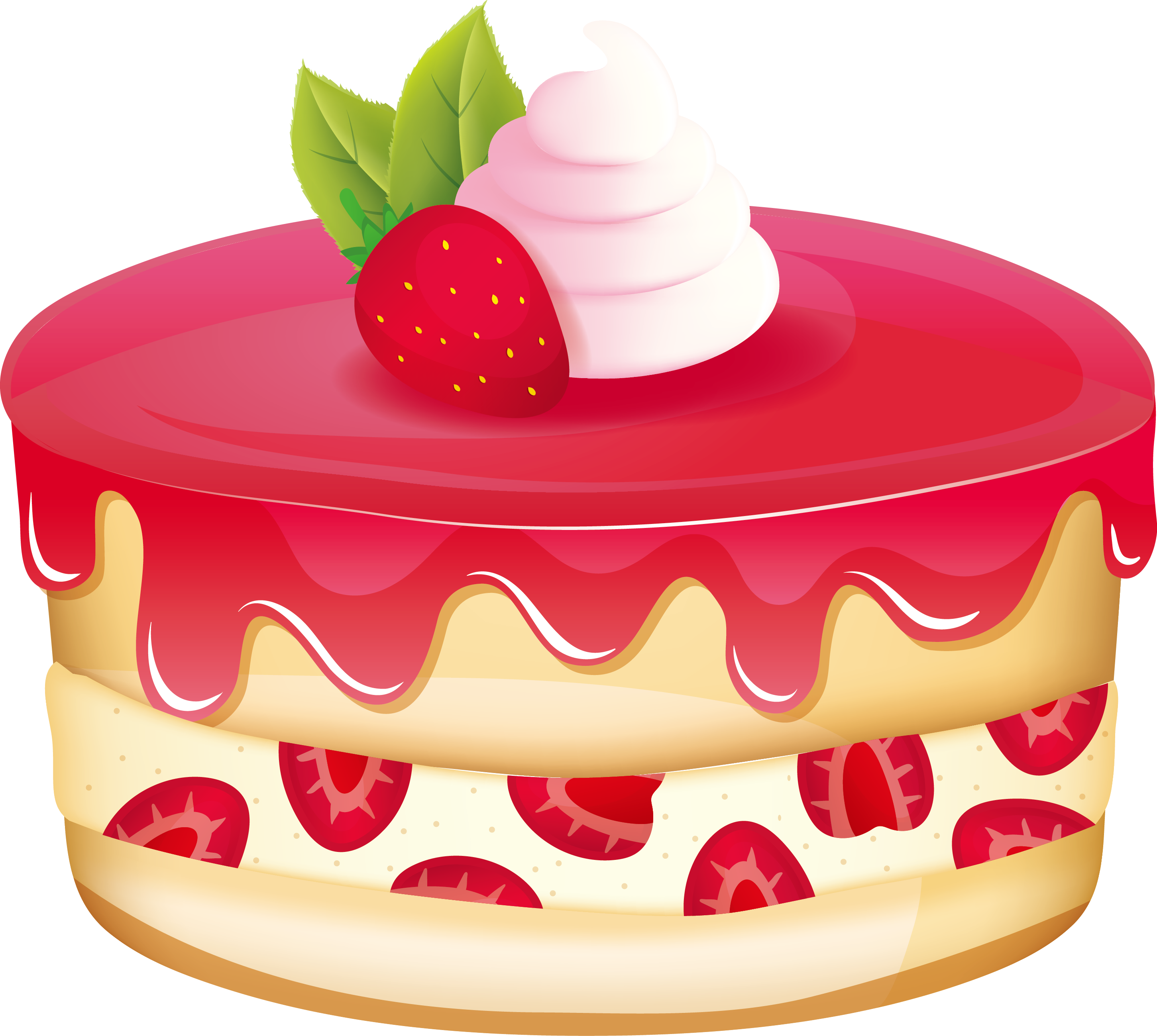 Strawberry shortcake bxe nh. Dessert clipart coconut cake
